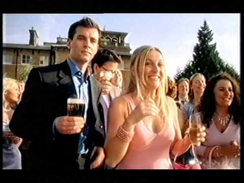 Tetley's Beer Advert featuring The Bill's Natalie Roles, circa 2000