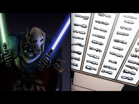 All the Fine Additions in Grievous' Lightsaber Collection [Legends] - Star Wars Explained