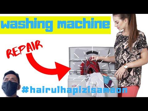 Howto Repair Washing Machine Sharp Model ESS139 | Hairulhapizisamaon