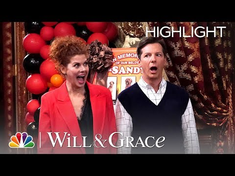 Grace And Jack Go To Annie-Con - Will & Grace