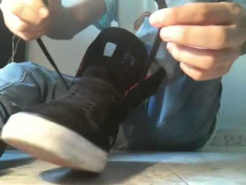 A new way to tie (lace) your Supra Skytop 2 II review and on feet - YouTube bd5ac685b288