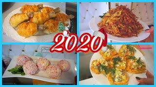 🥙🥗ПРАЗДНИЧНЫЙ СТОЛ за 600 рублей🍾🍾🍾Новогодний стол 2020 🌲🌲Закуски на праздничный стол