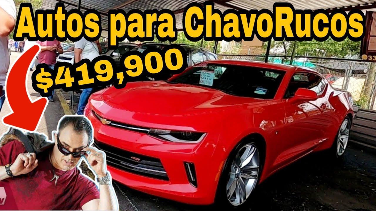 Autos deportivos en el TIANGUIS DE AUTOS en VENTA usados NO muy baratos review cars for sale
