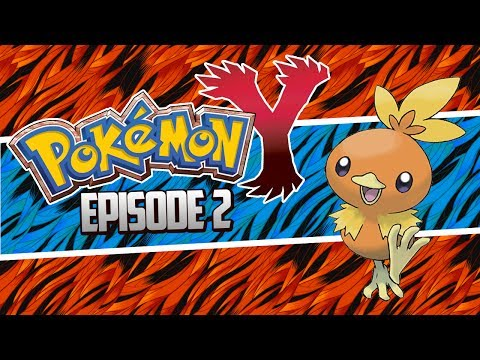 Pokemon X And Y Let's Play Walkthrough, Torchic Event Pokemon! - Episode 2