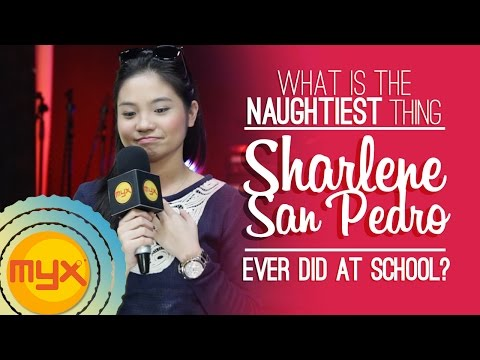 Sharlene San Pedro shares the naughtiest thing she ever did at school!