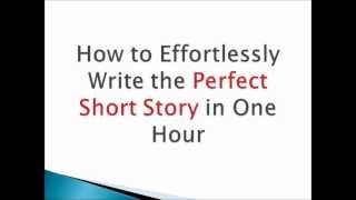How to Write a Short Story in One Hour