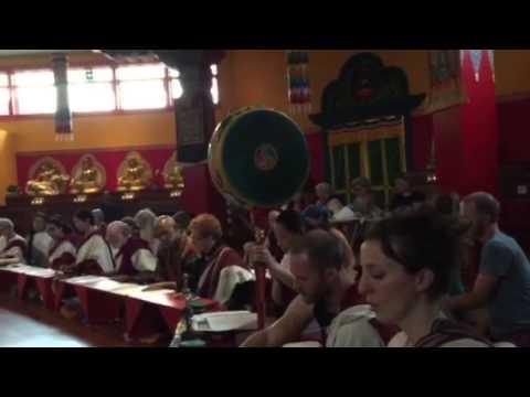 Tsog Feast ending Vajrayana and Umdze Chopon Trainjng Tara