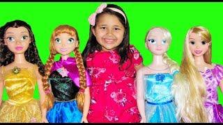 Disney Princess My Size Dolls Pretend Play Dress Up