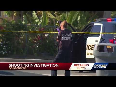Shooting investigation in Boynton Beach