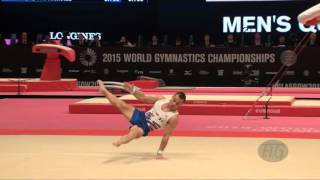 ait said samir fra 2015 artistic worlds qualifications floor exercise