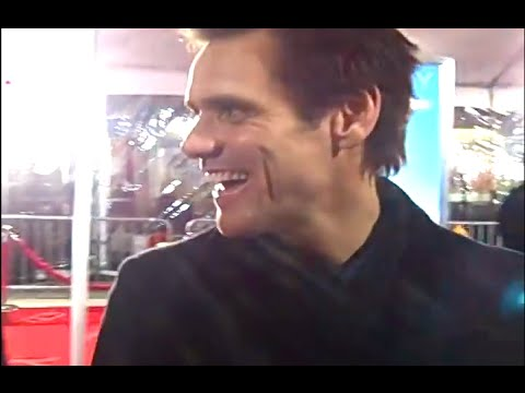 Jim Carrey at Yes Man Premiere! (Singing