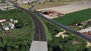 Future View of Highway 1 as Part of the Salmon Arm West Project