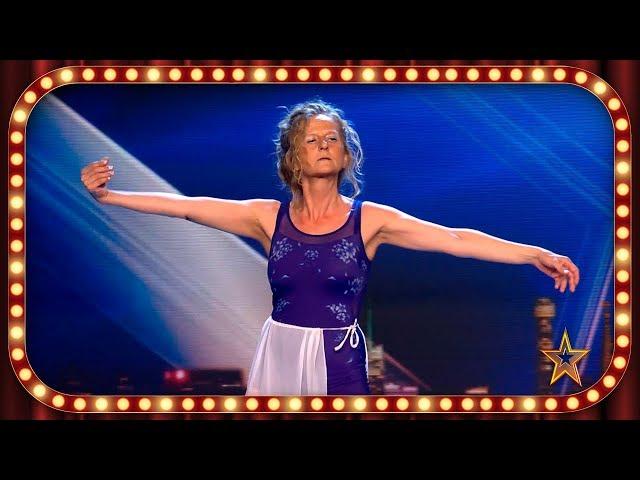 Dedica SU PRECIOSO BAILE a una AMIGA FALLECIDA recientemente | Inéditos | Got Talent España 2019