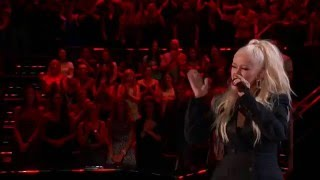 Christina Aguilera - I Put A Spell On You (Live on The Voice 2016 ft. Joe