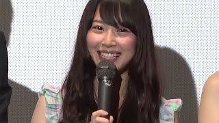 SKE48高柳明音「W主演は後から聞かされた」キャストも集結!映画「浄霊探偵」初日舞台あいさつ1 #Akane Takayanagi #Japanese Idol