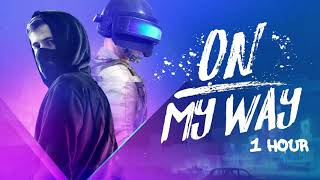 Gambar cover Alan Walker, Sabrina Carpenter & Farruko - On My Way [1 Hour] Loop
