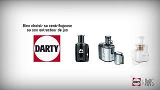 Bien choisir sa centrifugeuse ou son extracteur de jus - conseil Darty