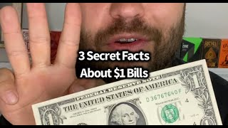Three Secret Facts About $1 Bills // Stess-Show Vol25// Learn 3 National Treasure Style Facts