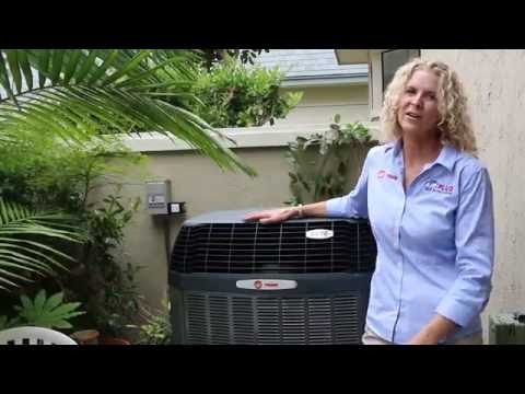 Quiet Air Conditioner | Trane XV20i Variable Speed AC | Best HVAC Service in San Diego