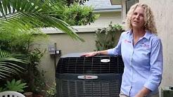 Quiet Air Conditioner | Trane XV20i Variable Speed AC | Best HVAC Service in San Diego
