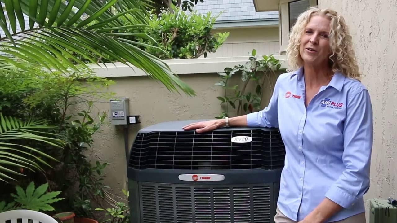 Quiet Air Conditioner   Trane XV20i Variable Speed AC   Best HVAC Service  in San Diego