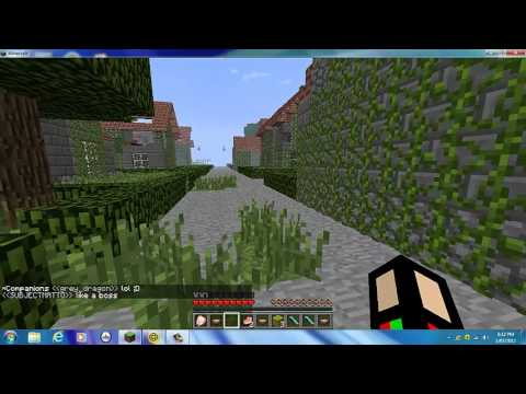 Minecraft Hunger Games City Map (WITH IP)