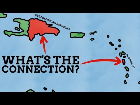 Why Do The Dominican Republic & Dominica Have Such Similar N
