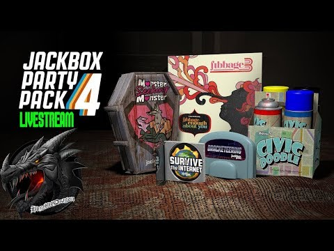 🔵LIVE🔵😎🤙COMMUNITY GAME NIGHT: Jackbox Party Pack 4!
