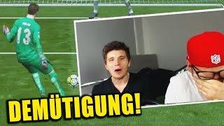 PETERLE WIRD GEDEMÜTIGT! feat. REWI ✪ FIFA 16 CHALLENGE