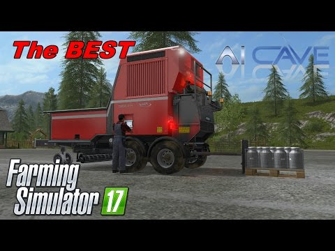 Farming Simulator 2017 Best Mod Ever - Fliegl Pallet Filling System