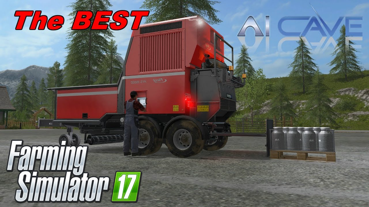 Farming Simulator 2017 Best Mod Ever Fliegl Pallet