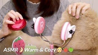 (SUB)[Japanese ASMR] Warm and Cozy Triggers / Scenes LifeLike / あったかい物の音