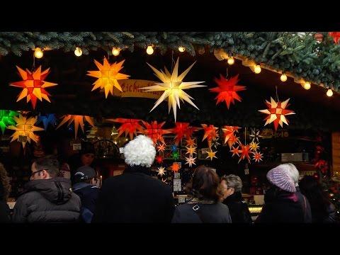 Dresden Christmas Markets in Germany - Dresdner Weihnachtsmärkte in Deutschland - Weihnachtsmarkt