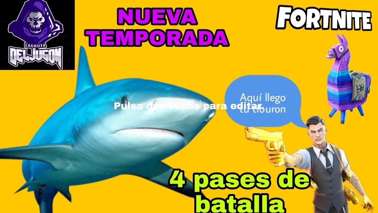 🔴¡AHORA! NUEVA *TEMPORADA *3 DE FORTNITE❌4 PASES DE BATALLA EN *DIRECTO