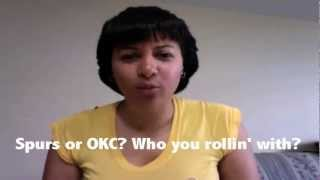 NBA Western Conference Finals - Spurs vs. Thunder - Who Wins the Series? -
