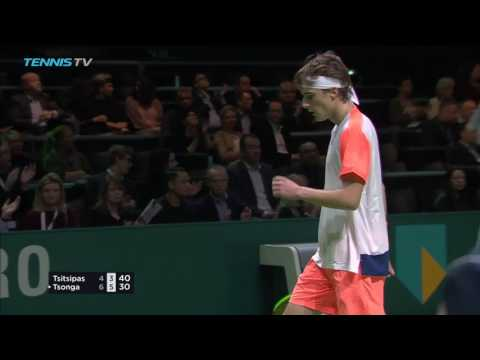 2017 Rotterdam Tennis Highlights: Tsonga & Cilic 14 Feb