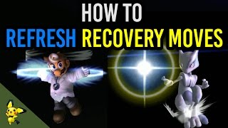 how to refresh recovery moves   super smash bros melee