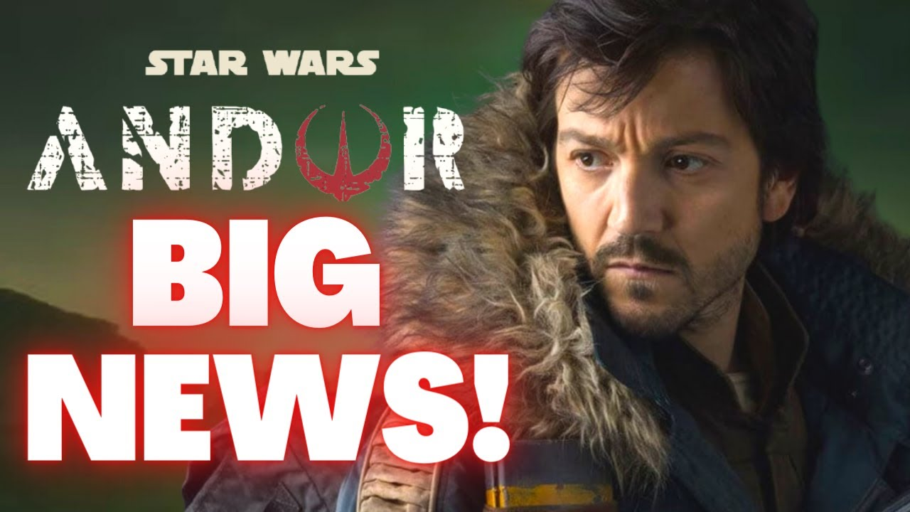 """Download Big Tease for the Andor Series!   """"Expect Familiar Faces"""" Says Diego Luna (Star Wars News)"""