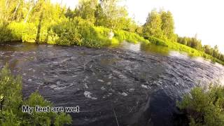 Lapland fishing trip S1 Ep1