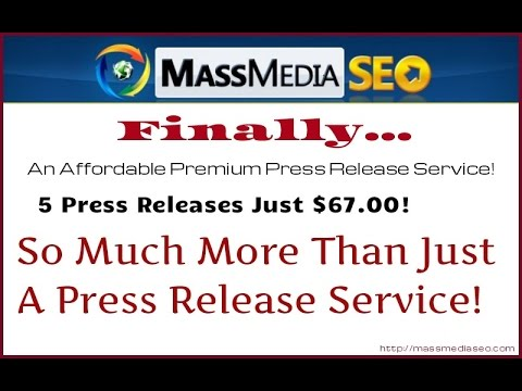MassMedia SEO 2 0  More Than Just A Press Release Service