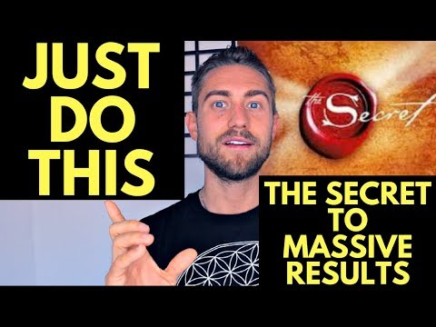The Secret to Goals with the Law of Attraction (MASSIVE RESULTS)