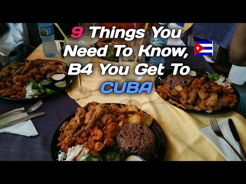 9 Things you need to know before you head to CUBA