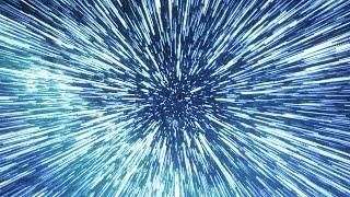 【フリー素材 / HD】 STAR WARS ハイパードライブ(超光速航法)のCGアニメーション 1080p 60fps After Effects AE アフターエフェクト 結婚 余興