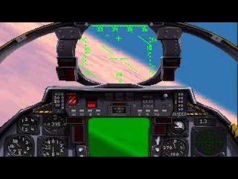 F-14 vs Mig-29 Dogfight (1994 Fleet Defender)  