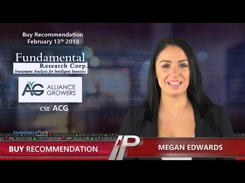 Fundamental Research Corp upgrades coverage on Alliance Growers (CSE: ACG)