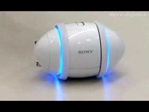 Sony Rolly in Motion - Uncut Demonstration 2007 : DigInfo