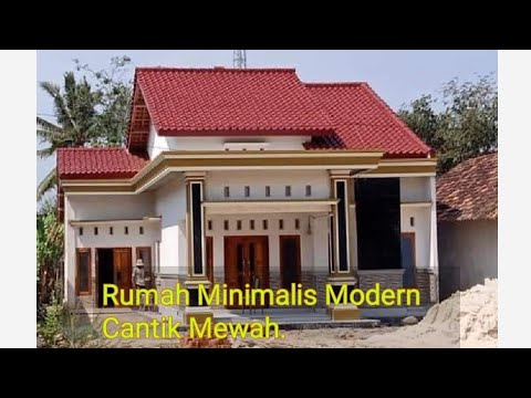 Rumah Minimalis Cantik 2020, Ukuran 9x12,5 - YouTube