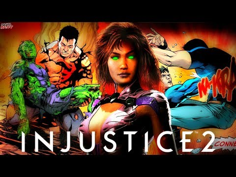 Thumbnail: Injustice 2: What Happened To Starfire & The Teen Titans?