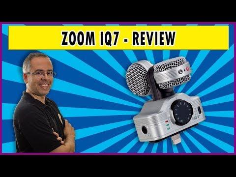 Zoom IQ7 - review | Transforme seu IPhone em um gravador profissional