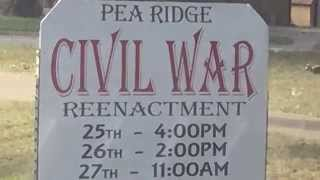 Battle of Pea Ridge 10 9 15